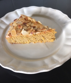 sinaasappelcake met polenta en amandelen