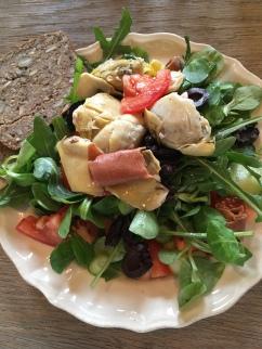 Zuiver Genieten salade
